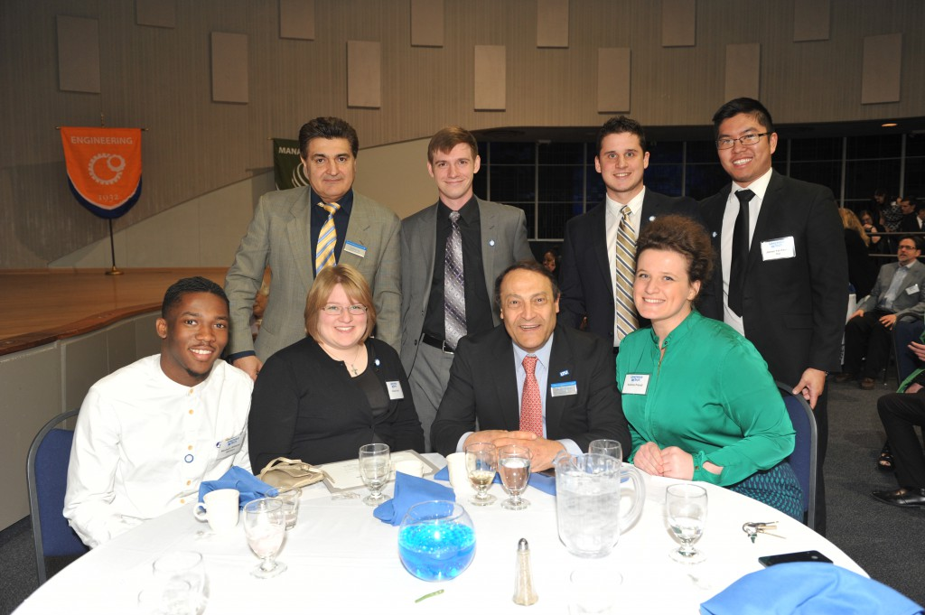 LTU Presidential Scholars with Dr. Shahram Taj and Dean Mirshab