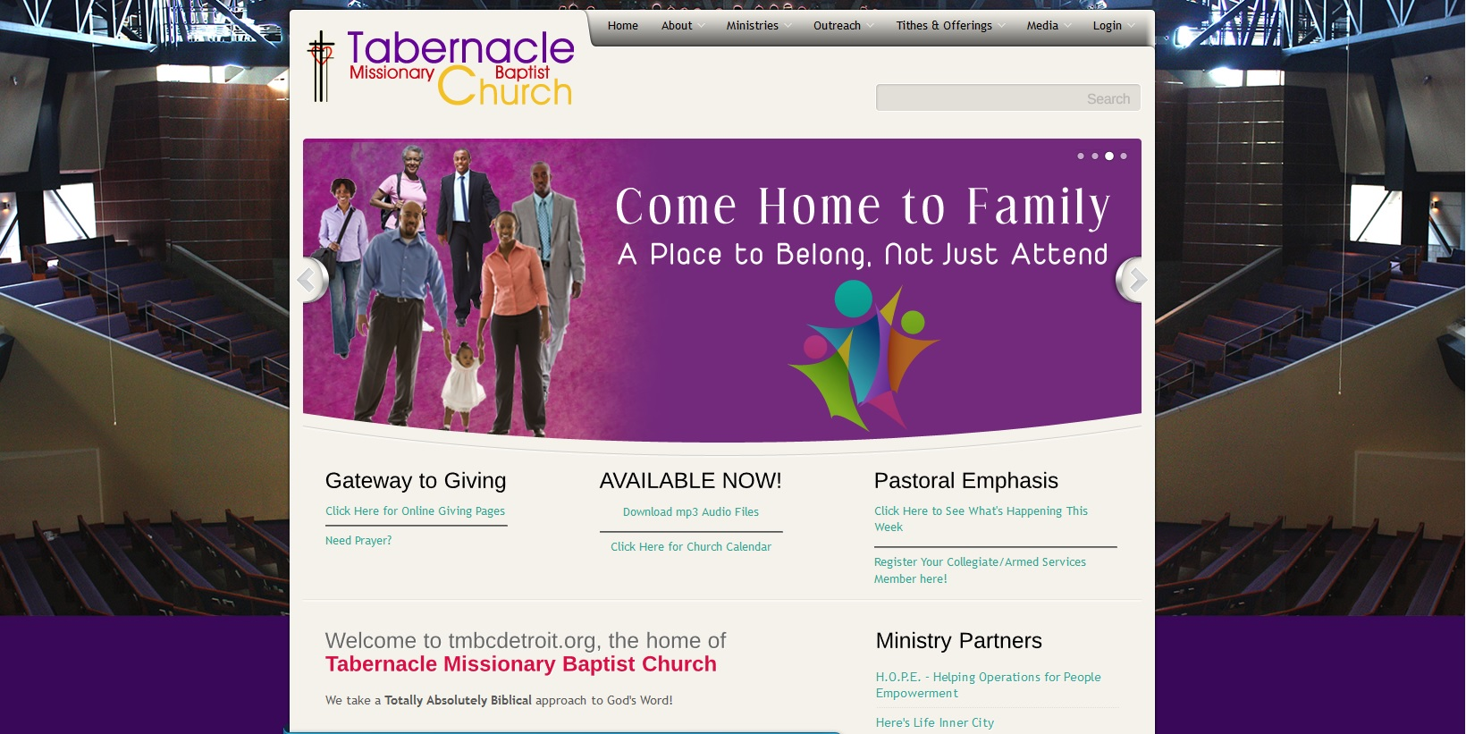 Tabernacle Missionary Baptist Church