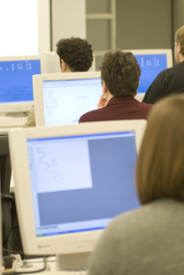 Students in Computer Lab DMIT