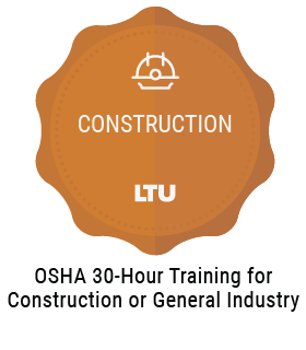 OSHA 30-Hour Training for Construction or General Industry