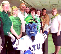 St Patricks Day Staff Senate Party 2008