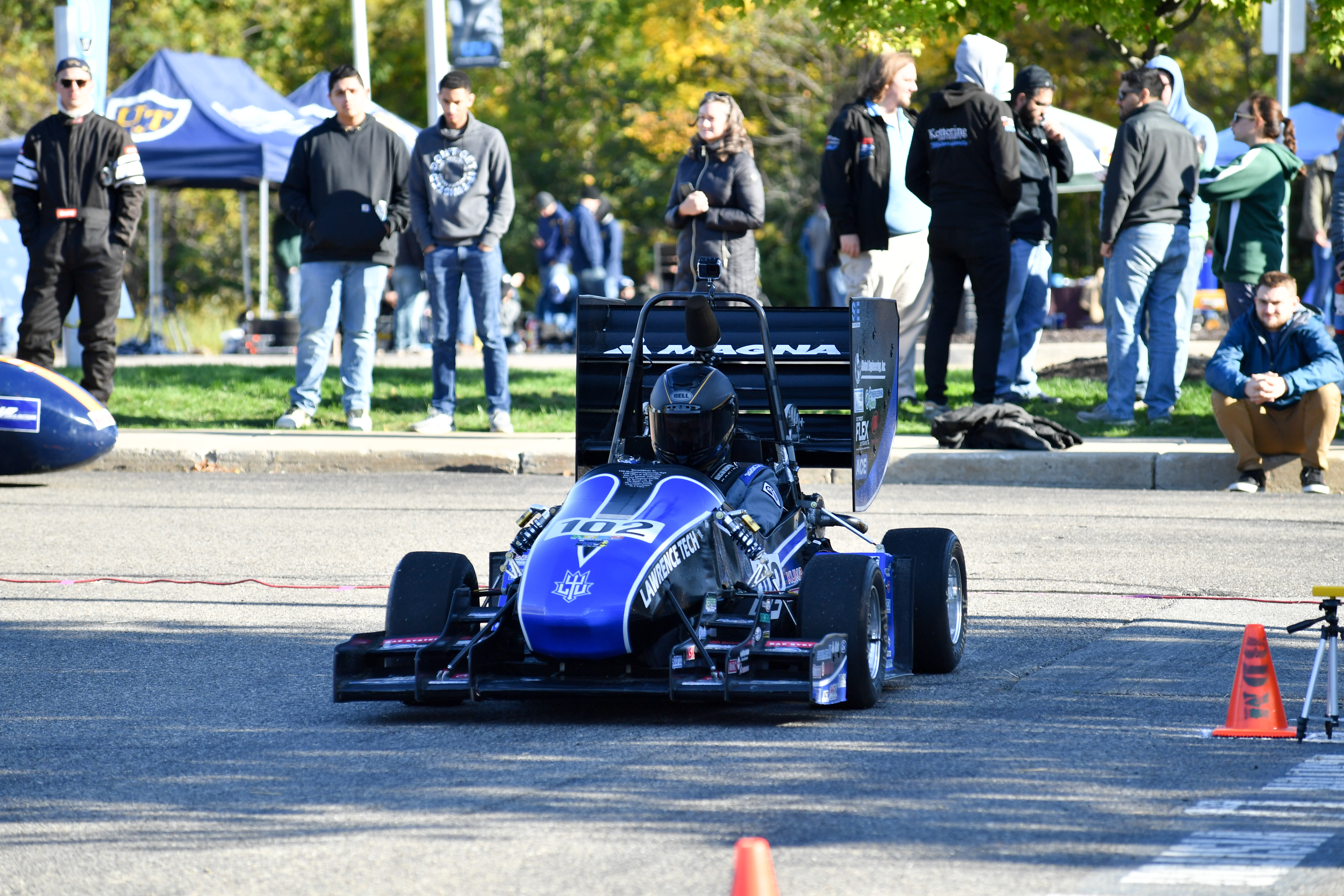 LTU's Formula SAE race car - LTU Grand Prix