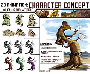 2D Animation: Character Concept