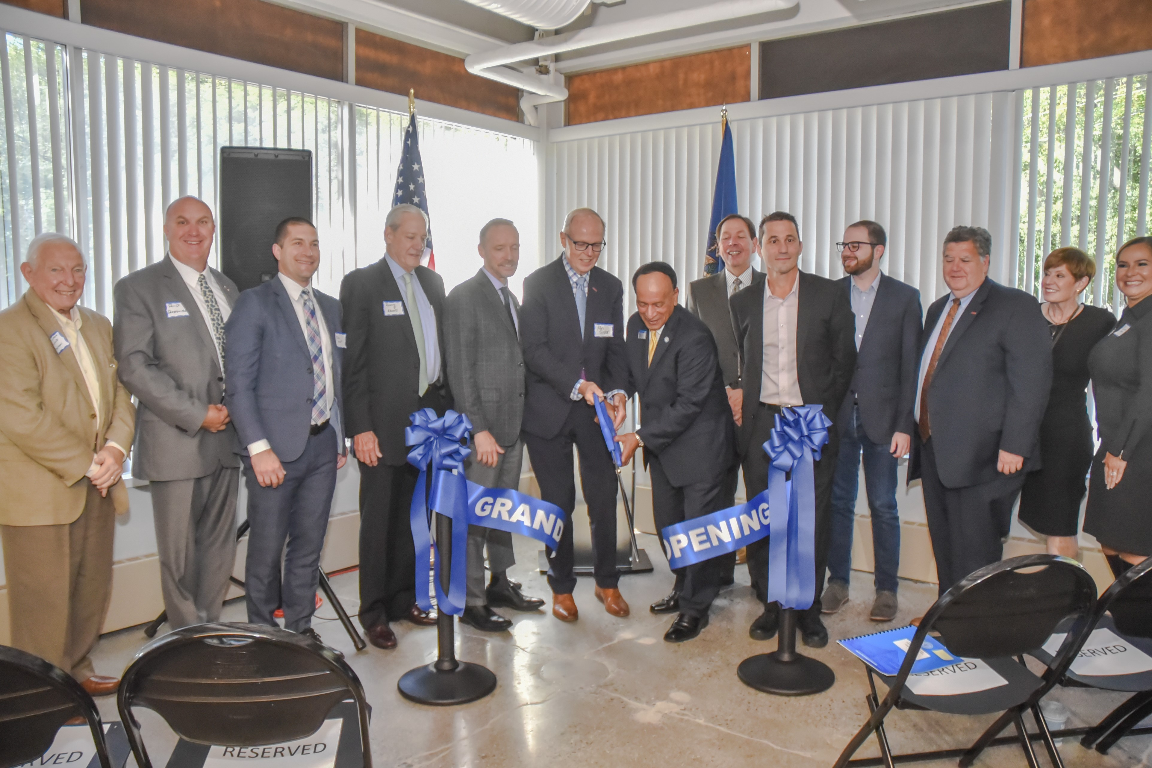 Centrepolis Accelerator ribbon cutting