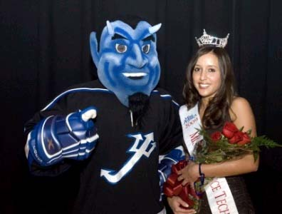 GO! Blue Devil and Miss LTU