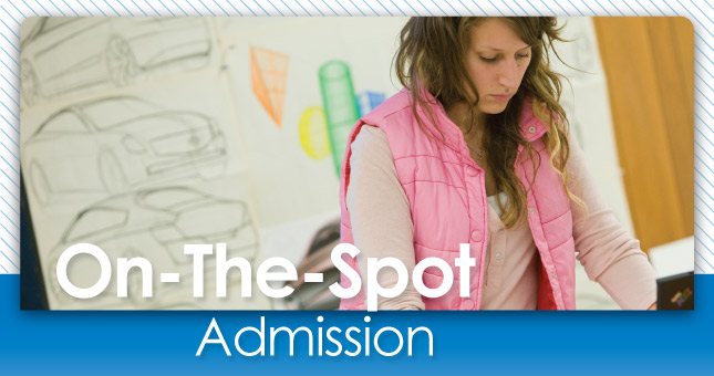 On-The-Spot Admission Days