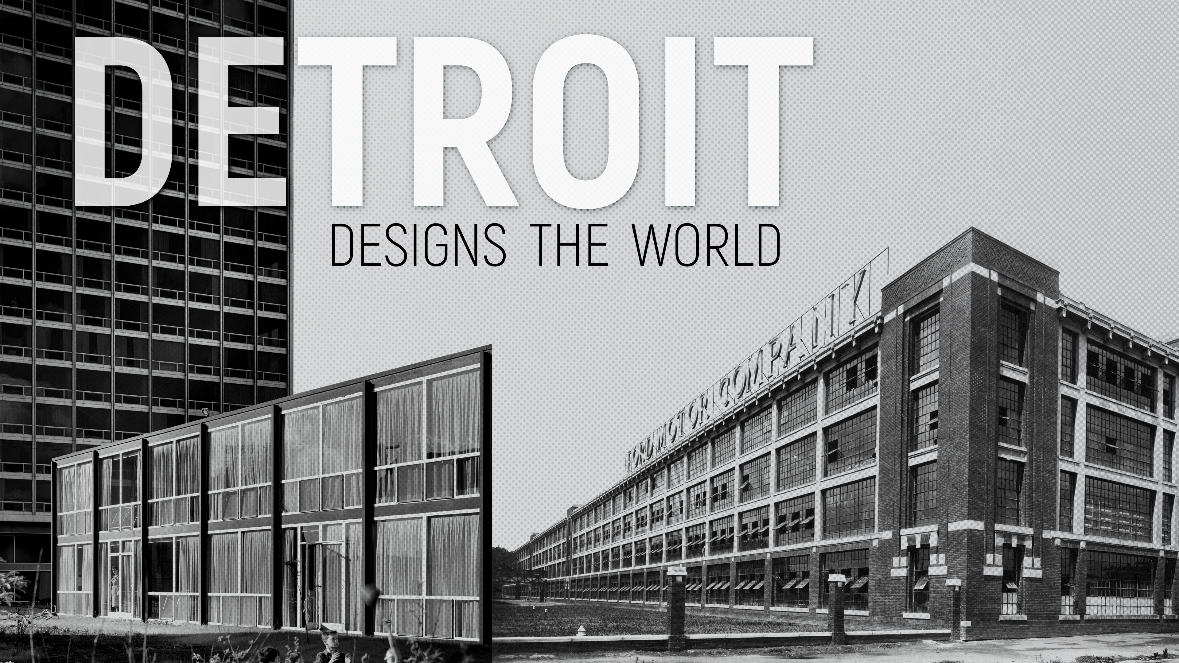 Detroit Designs the World Poster