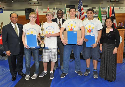 Senior Game competition at the Robofest World Championships
