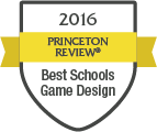 2016 Princeton Review - Best Schools Game Design