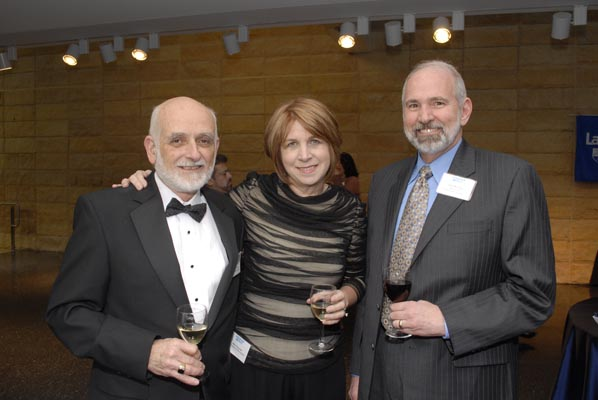 Joe Veryser, Rita Veryser and William Moylan