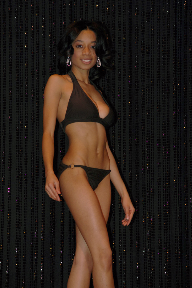 Liana Meeks during swimsuit