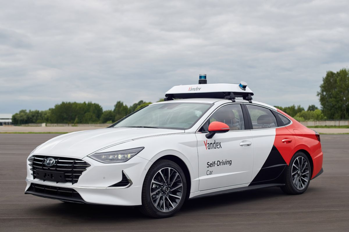 Yandex self driving car