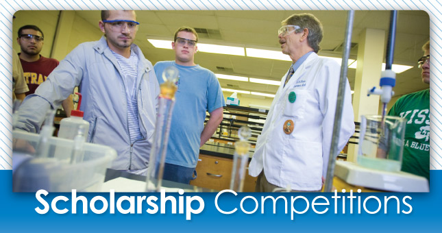 Scholarship Competitions Header