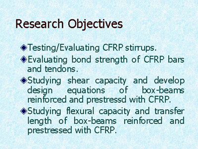 research objectives