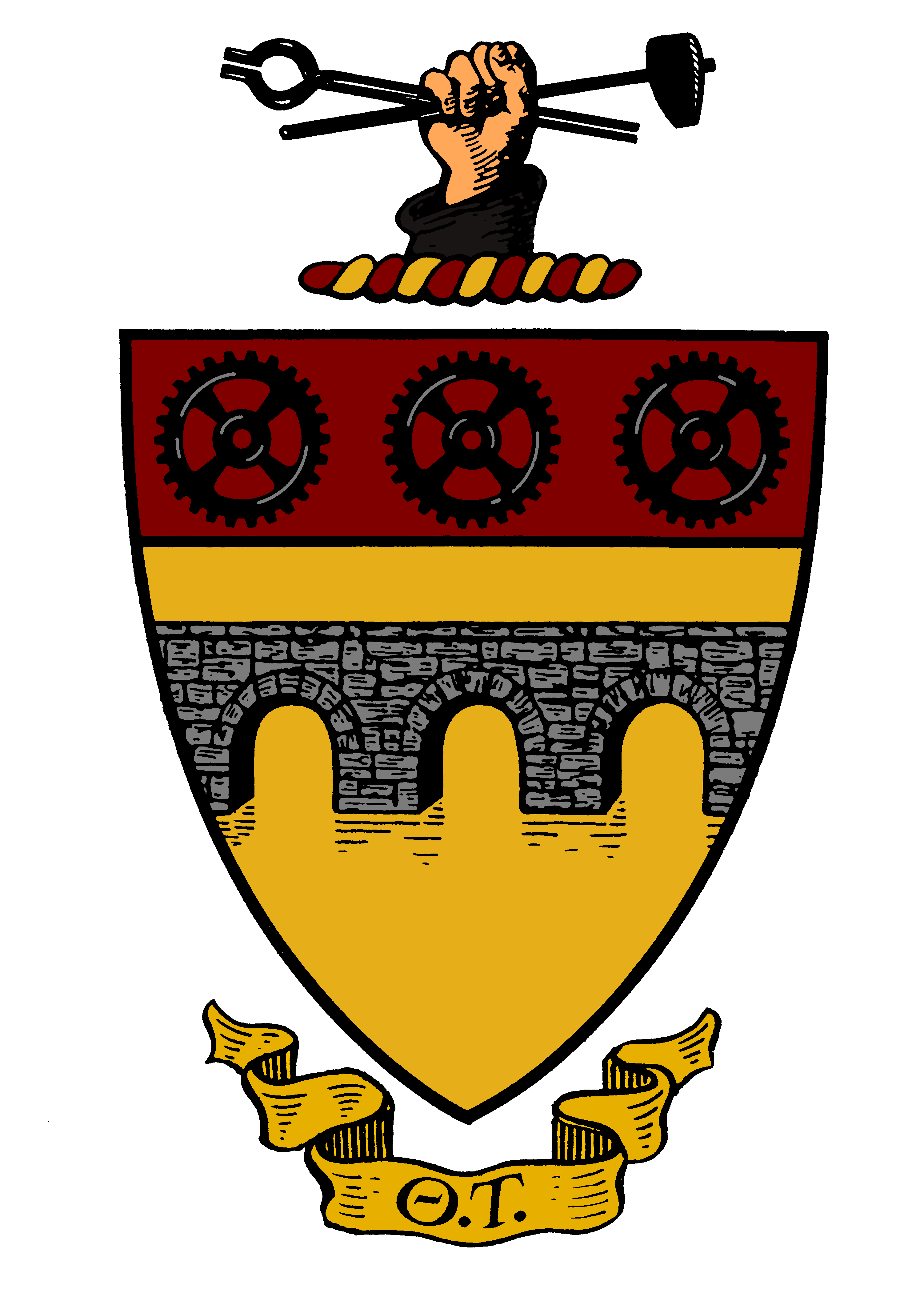Theta Tau - Coat of Arms