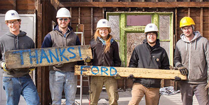 Ford Motor Company Fund, helps six students step outside of the classroom