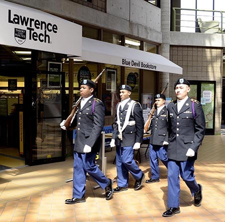 Lawrence Tech named Military Friendly School