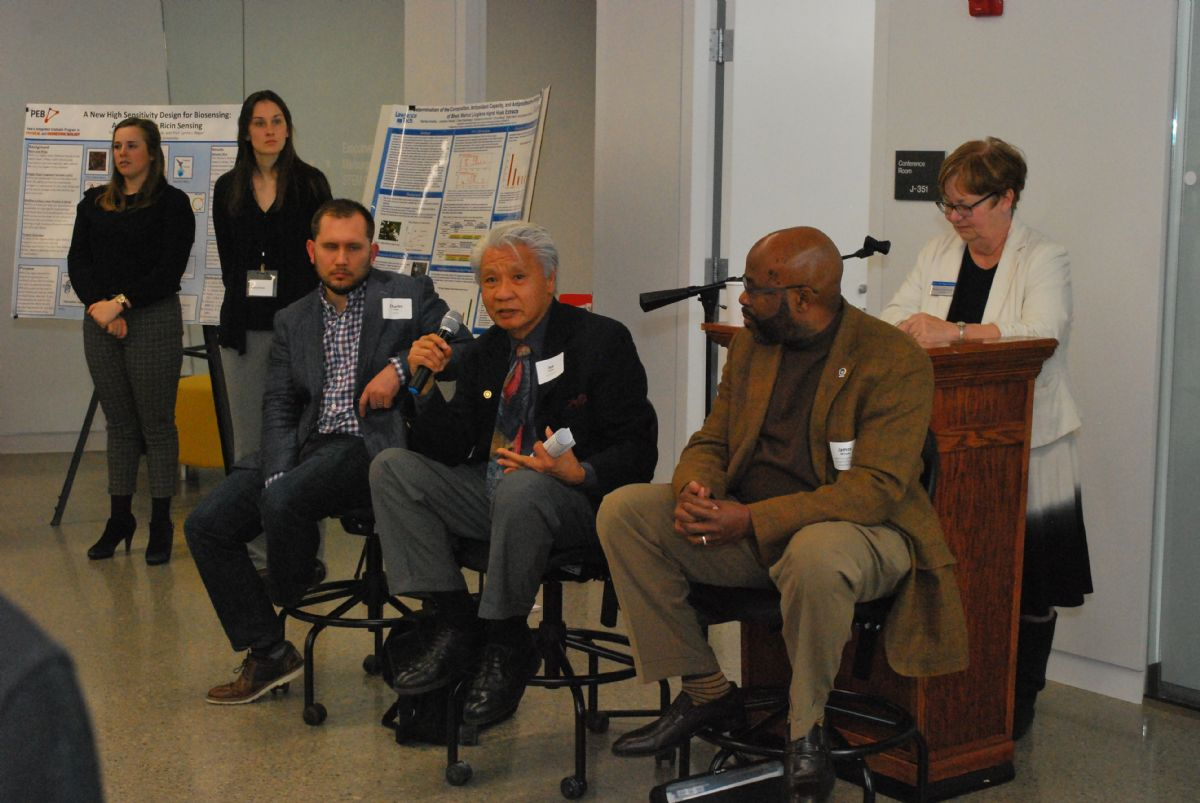 Lawrence Tech Science and Technology Showcase panelists