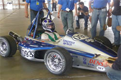 Formula SAE vehicle