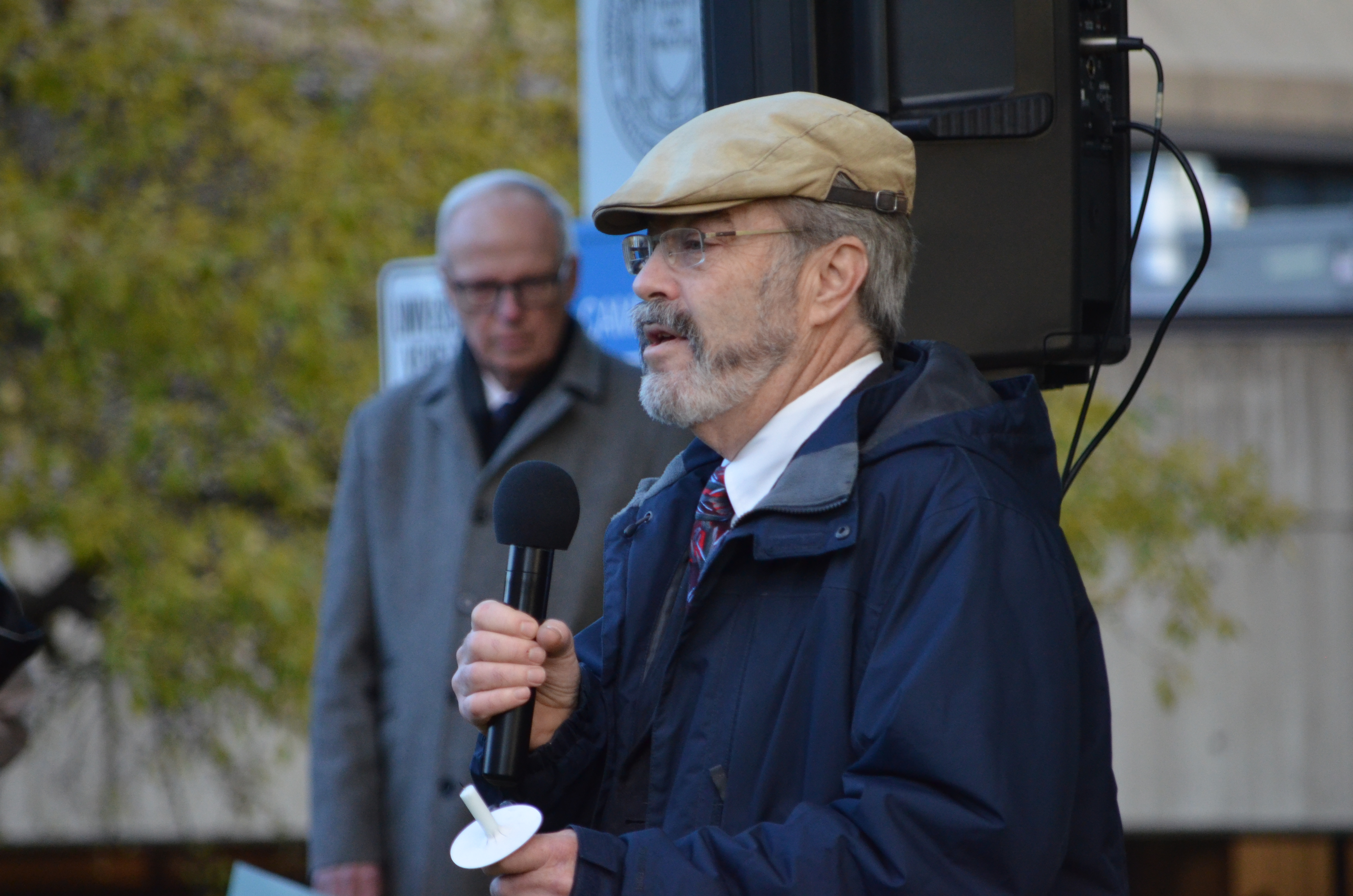 Ann Arbor rabbi Peter Gluck