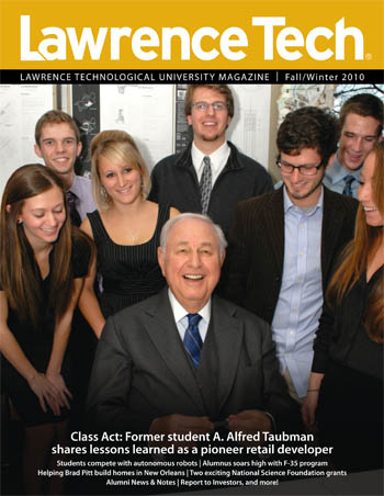 Lawrence Tech Magazine Fall / Winter 2010