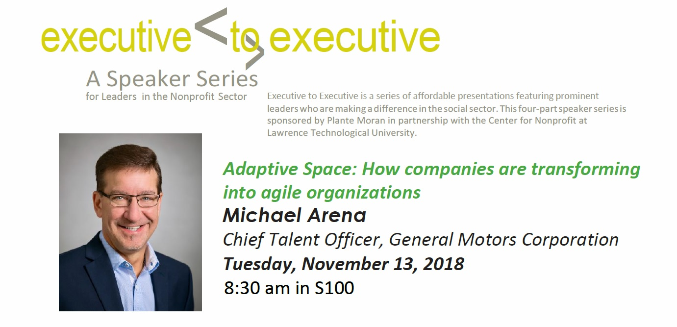Executive to Executive - A Speaker Series