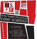 Event Schedule Flyer PDF