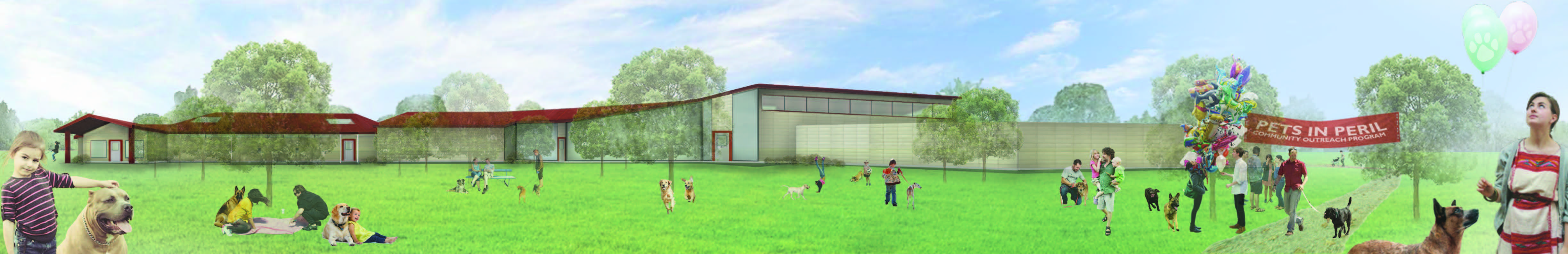 Animal Shelter Rendering