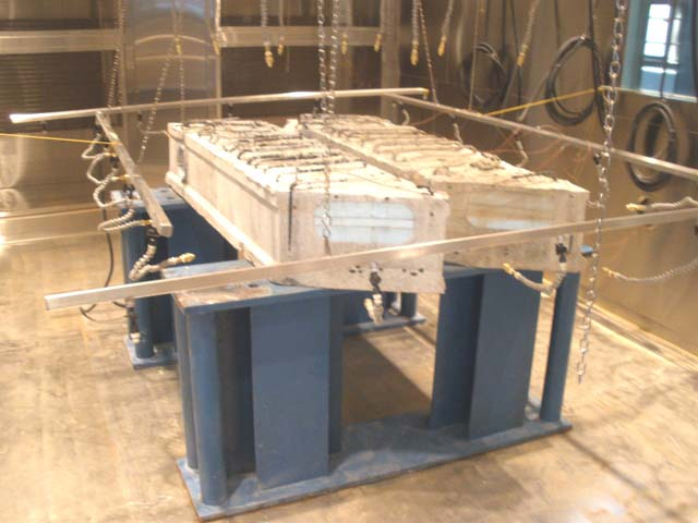 Environmental Test Chamber initial phase