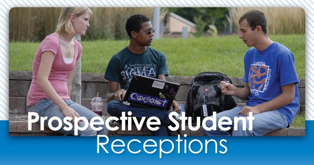 Prospective Student Reception Header