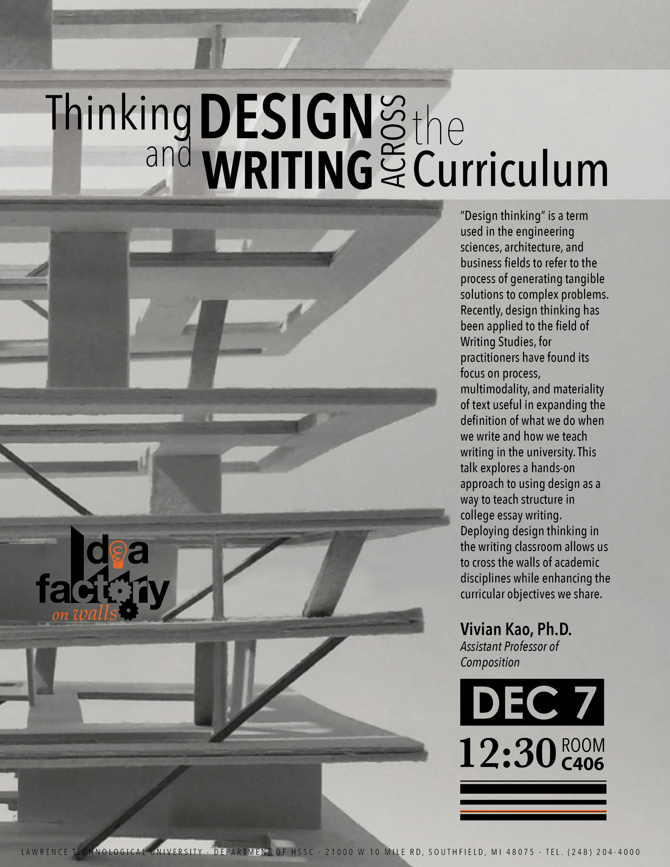 Thinking and Design Writing Across the Curriculum