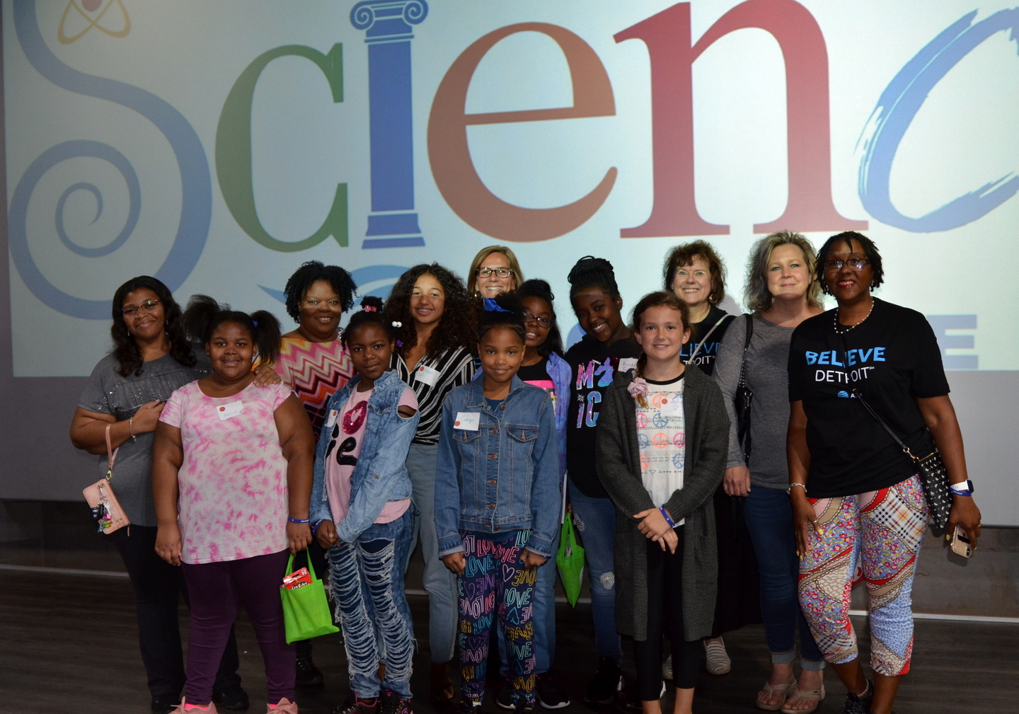 Girls in Future Technologies Day at the Michigan Science Center