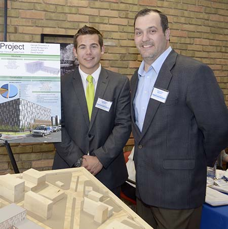 LTU student George Grzywacz and Jason Youngblood