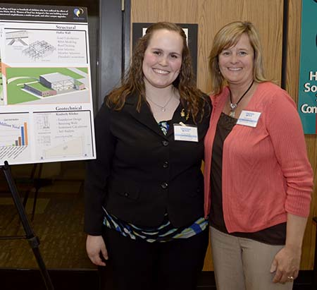 LTU student Ashley Meade and Nita Carpenter