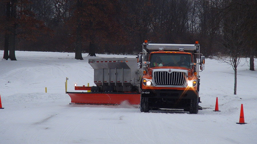 snowplow trucks