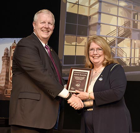 ASHRAE Distinguished Service Award - Janice Means