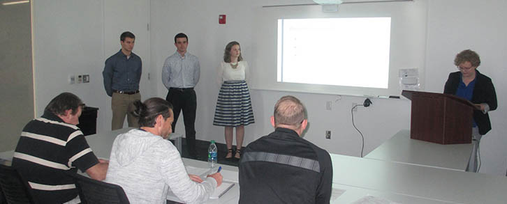 Marquette University student team Final Presentation