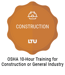OSHA 10-Hour Training for Construction or General Industry