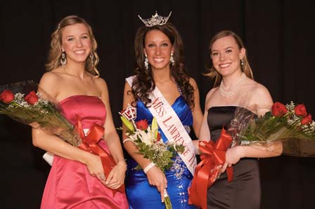 L to R - 2nd RU Allison Andre, Jenelle Sekol, 1st RU Madalyn Knebel