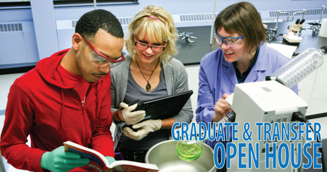 grad & transfer open house