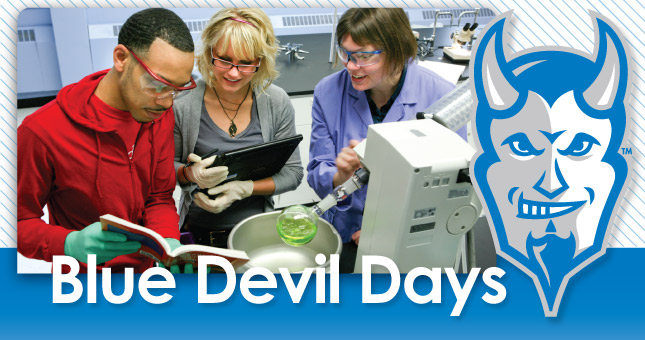Blue Devil Days Header